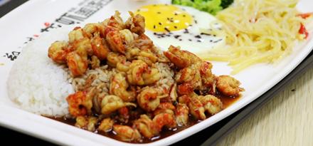 火爆南京的郑文琪小龙虾盖浇饭来合肥了