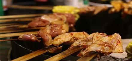 老安火盆烤肉 烤肉中的豪放派
