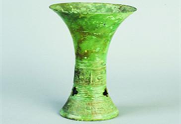 肥西馆驿出土三千年前商代青铜盛酒器